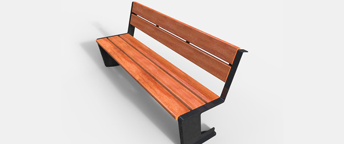Model BN 2008, Backed Bench