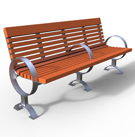 Model BN 2010, Backed Bench