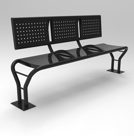 Model BN 2015-B, Backed Bench and Model BN 2015-BL, Backless Bench