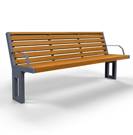 Model BN 2017-B, Backed Bench