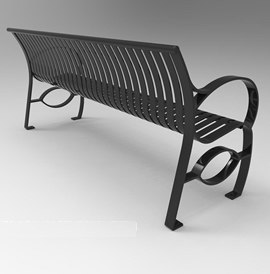 Model BN 2025-B, Backed Bench