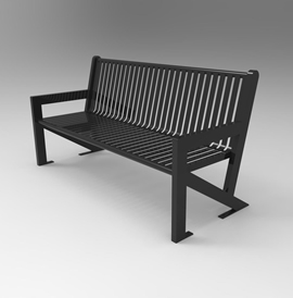Model BN 2027-B, Backed Bench and Model BN 2027-BL, Backless Bench