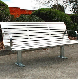 Model BN 2031-B, Backed Bench