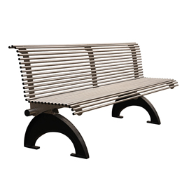 Model BN 2038-B, Backed Bench