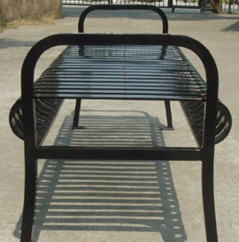 Mirage, MRBLB, Backless Benches - Model MRBLB-FB-6-SM-P
