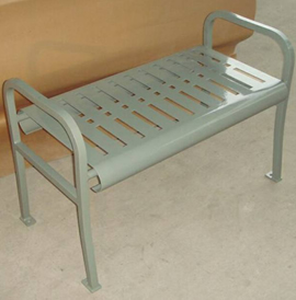 Mirage, MRBLB, Backless Benches - Model MRBLB-VLF-3-SM-P
