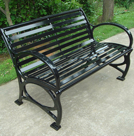 Necati Cast Bench: Patented D578,808 and D562,035