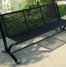 Nero, NRBB and NRBLB, Steel Benches