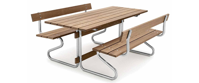 Model TB 6040-P Picnic Tables