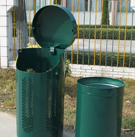 Decatur, DCT, Trash Receptacle - Decatur Components