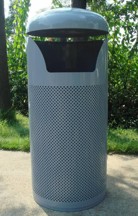 Decatur, DCT, Trash Receptacle